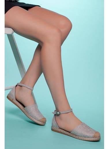 Muggo Espadril Ayakkabı Krem